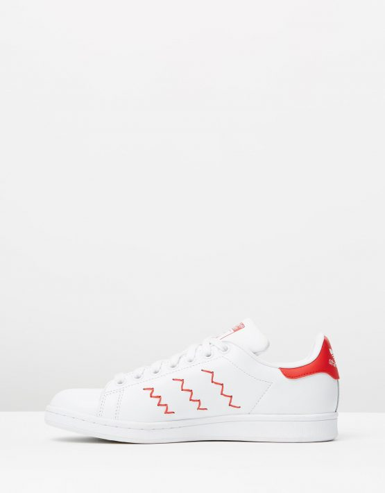 Adidas Womens Stan Smith W Red White 3