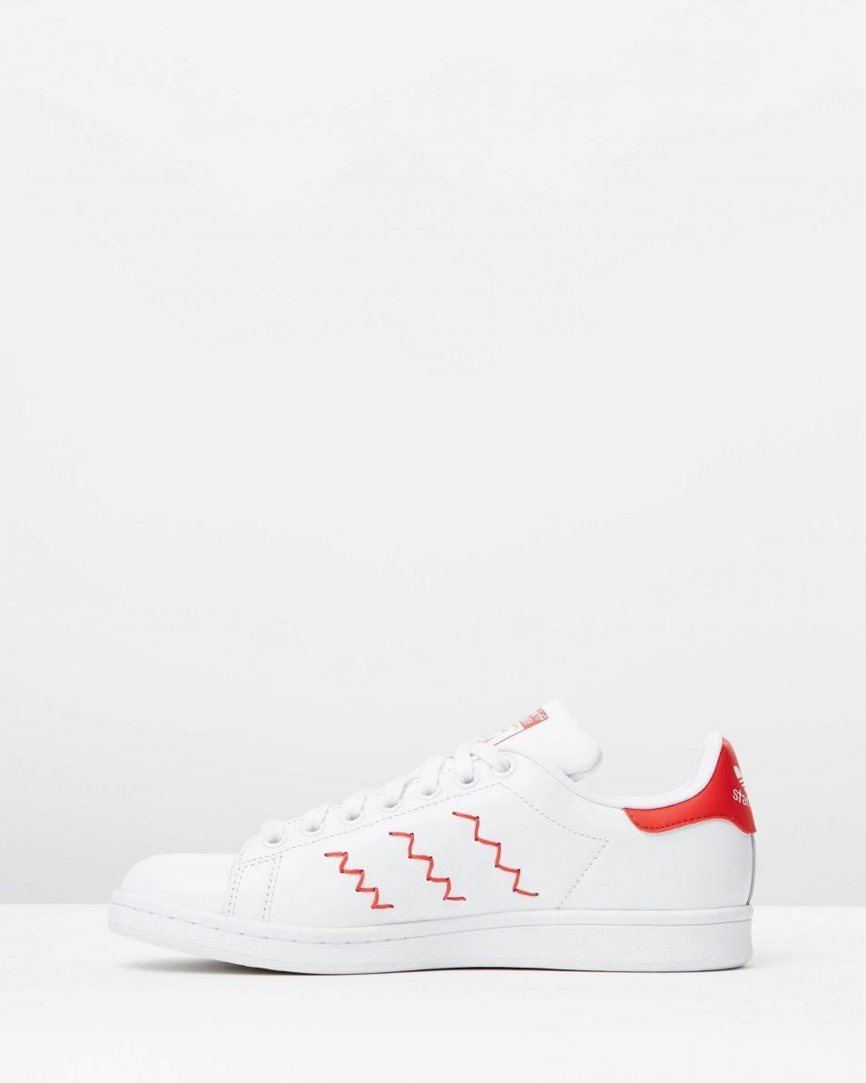 Adidas Womens Stan Smith W Red White 3