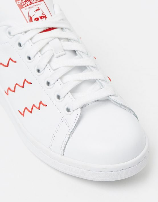 Adidas Womens Stan Smith W Red White 4