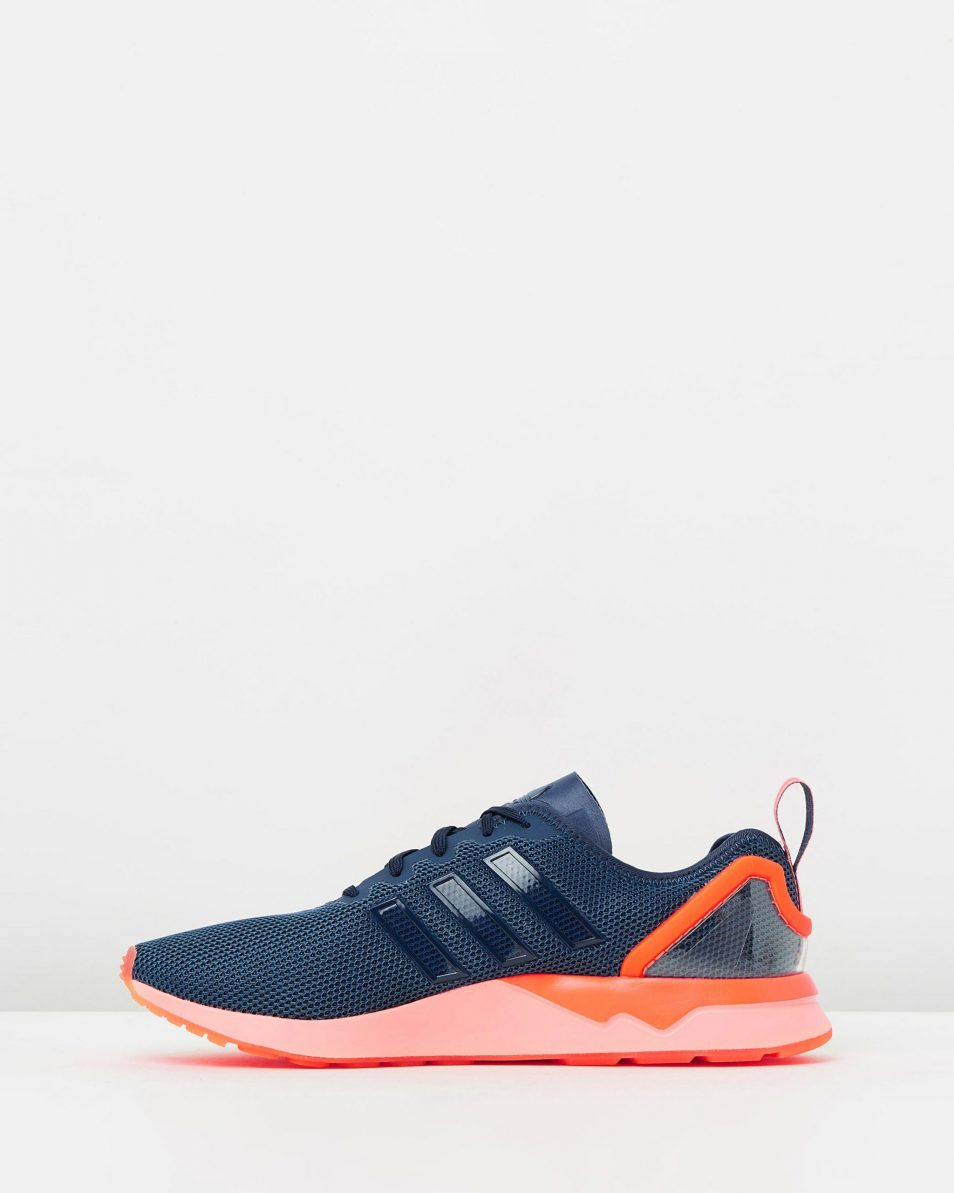 Adidas ZX Flux ADV Blue Orange 3