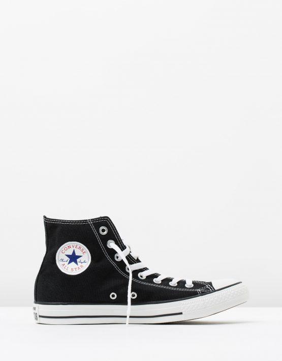 Converse Chuck Taylor All Star Hi Womens Black 1