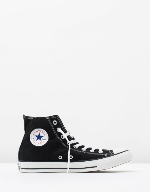 Converse Chuck Taylor All Star Hi Womens Black 1