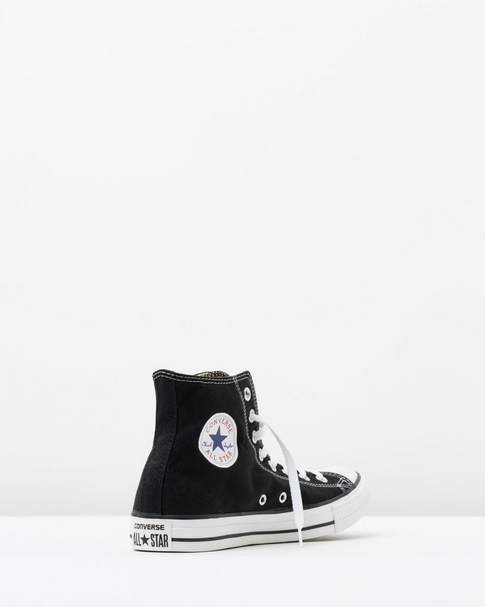 Converse Chuck Taylor All Star Hi Womens Black 2