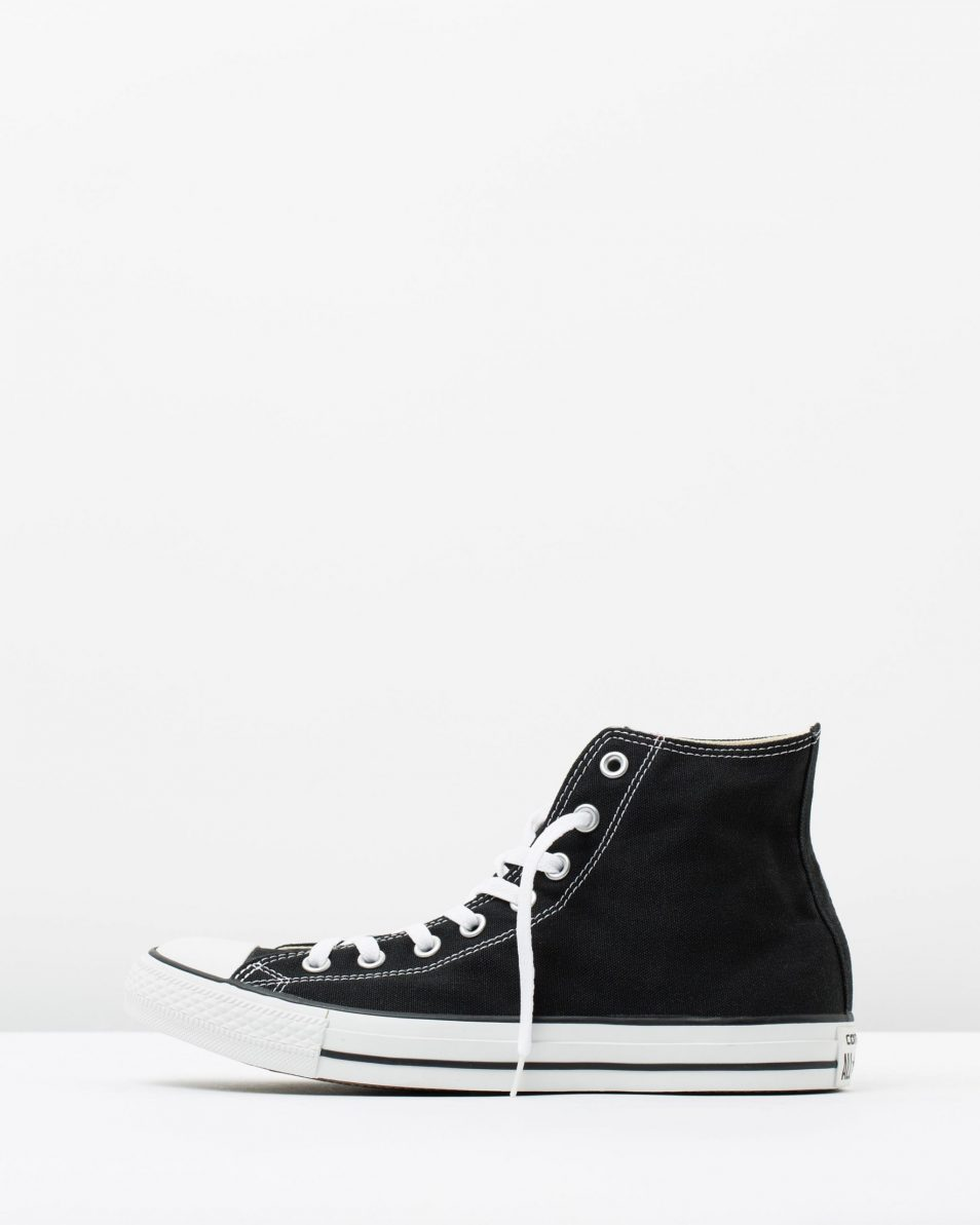 Converse Chuck Taylor All Star Hi Womens Black 3