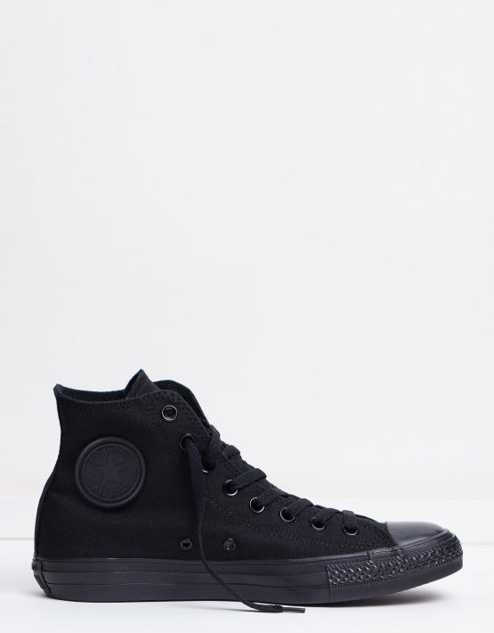 Converse Chuck Taylor All Star Hi Womens Black Monochrome 1