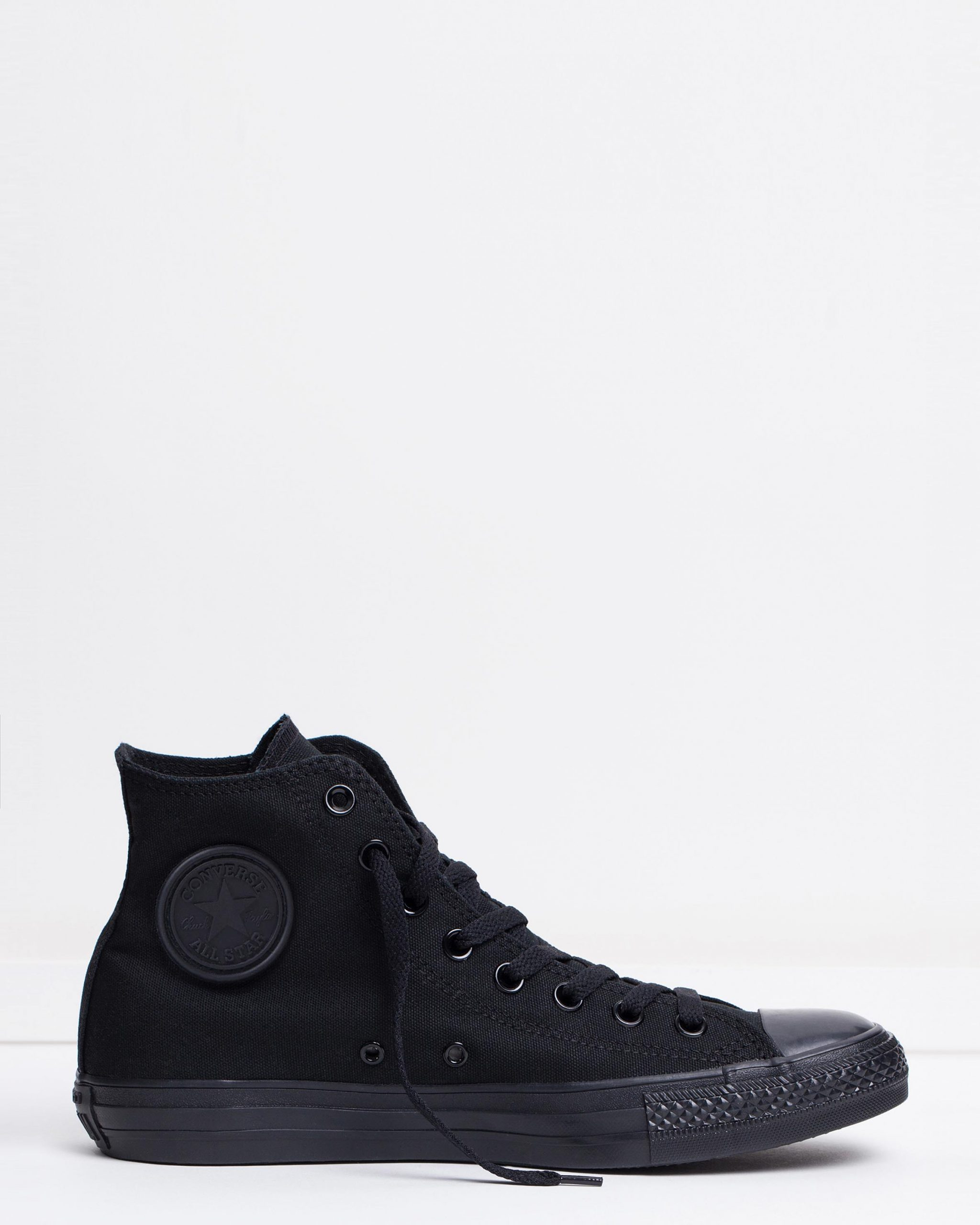 Converse Chuck Taylor All Star Hi Womens Black Monochrome