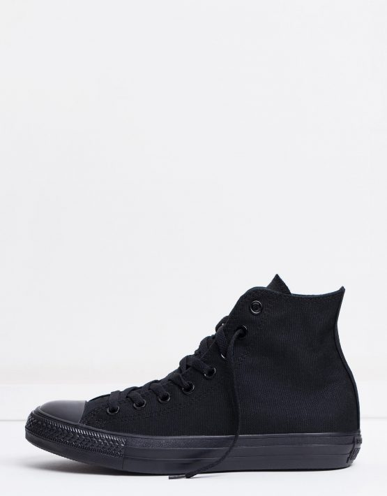 Converse Chuck Taylor All Star Hi Womens Black Monochrome 3