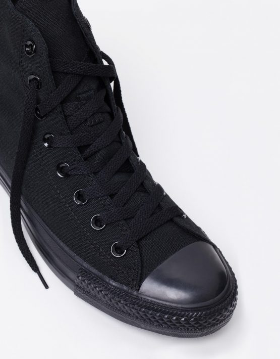 Converse Chuck Taylor All Star Hi Womens Black Monochrome 4