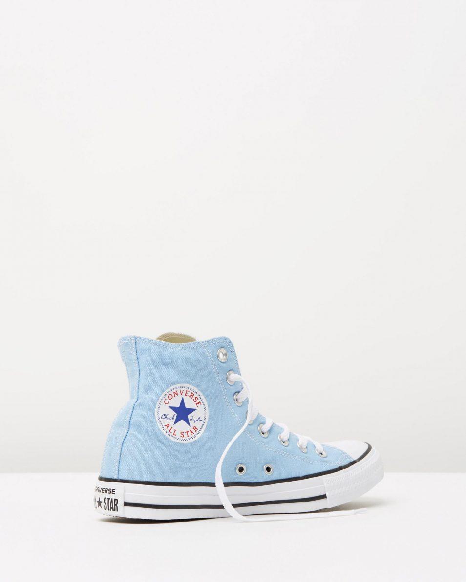 Converse Chuck Taylor All Star Hi Womens Blue Sky 2