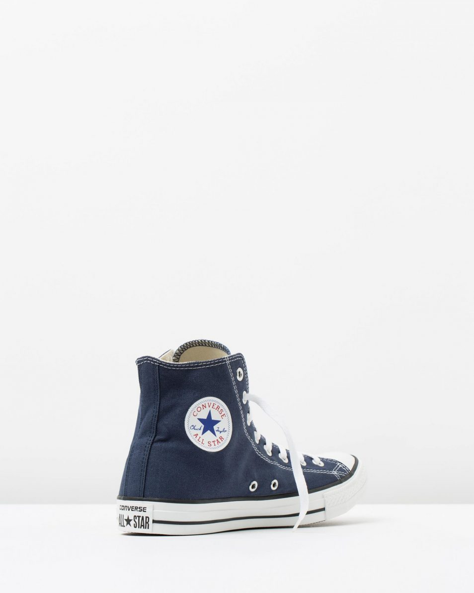 Converse Chuck Taylor All Star Hi Womens Navy 2