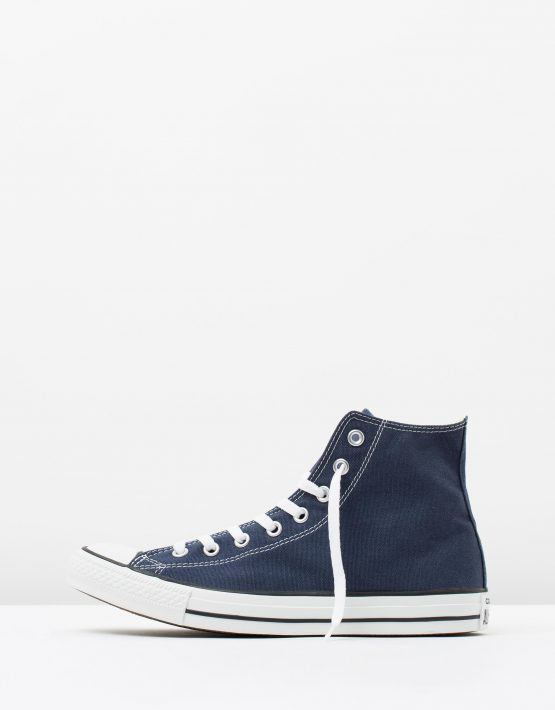 Converse Chuck Taylor All Star Hi Womens Navy 3