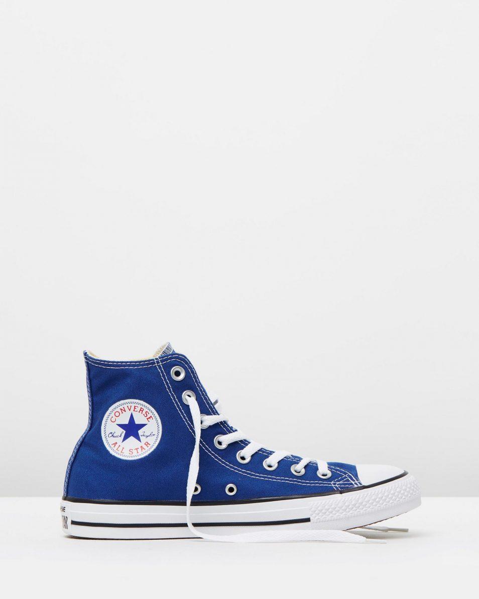 Converse Chuck Taylor All Star Hi Womens Roadtrip Blue 1