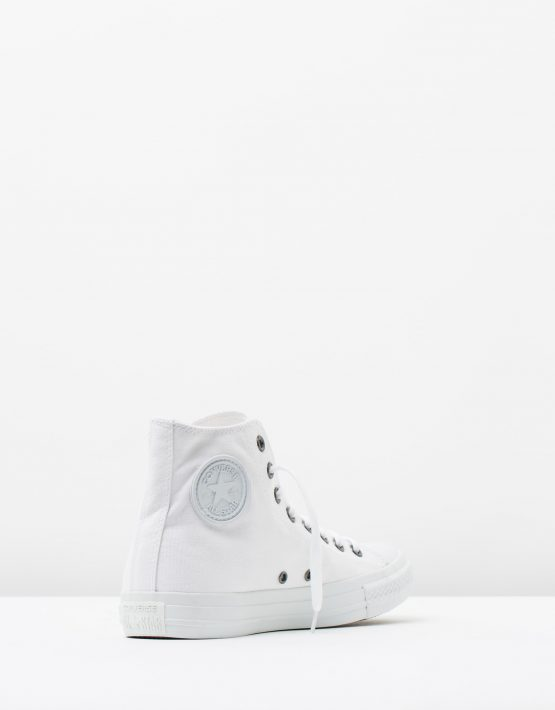 Converse Chuck Taylor All Star Hi Womens White Monochrome 2