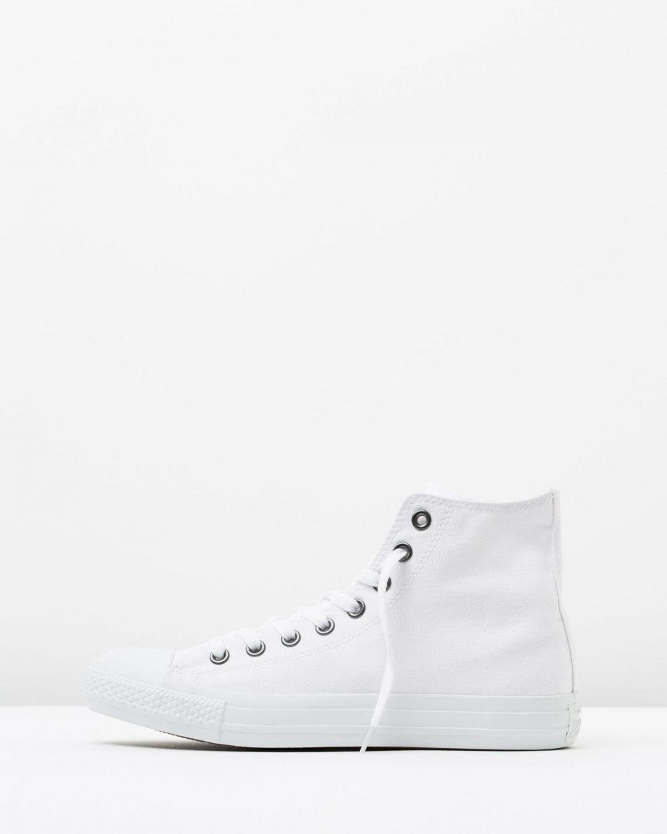 Converse Chuck Taylor All Star Hi Womens White Monochrome 3