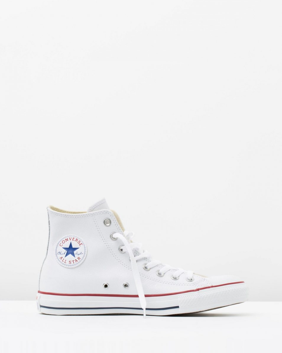 Converse Chuck Taylor All Star Leather Hi White 1