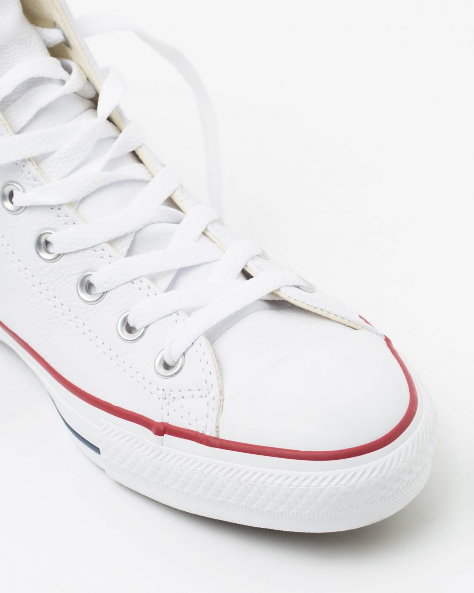 Converse Chuck Taylor All Star Leather Hi White 4