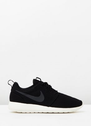 Mens Nike Roshe Run One Black 1