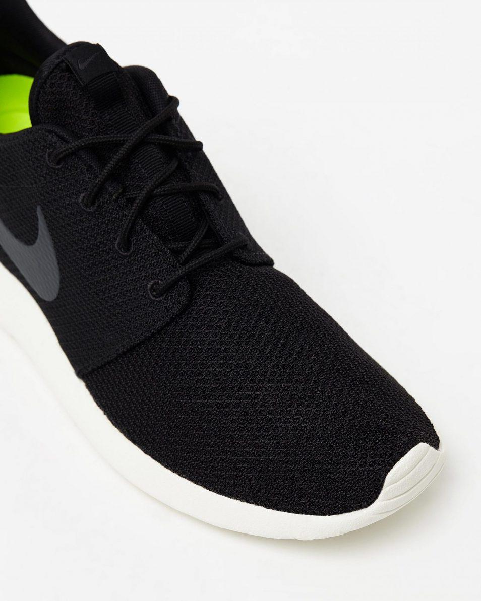 Mens Nike Roshe Run One Black 4