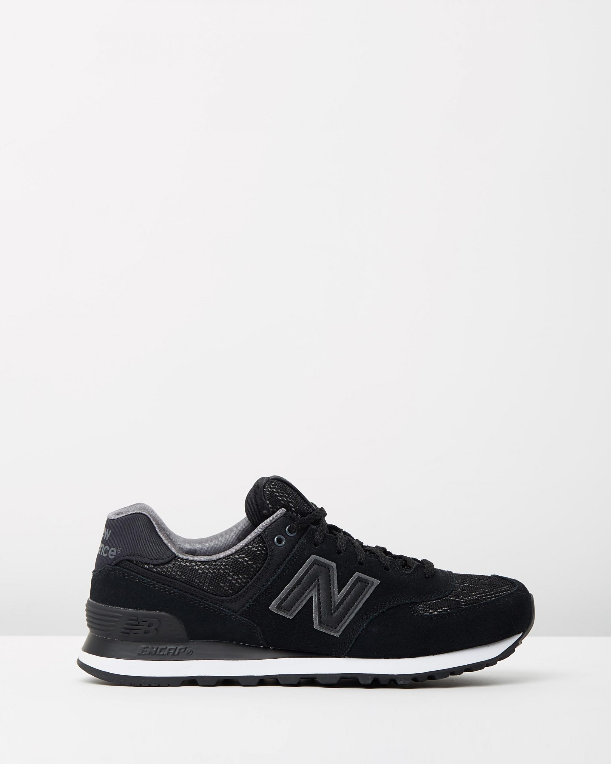 New Balance Women's WL574 Black Lace