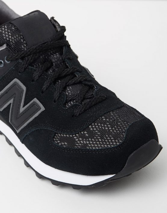 New Balance Womens WL574 Black Lace 4