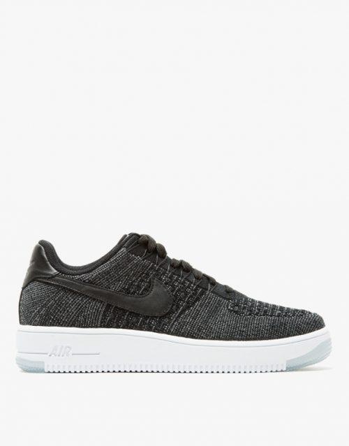 Nike AF1 Flyknit Low in Black 1