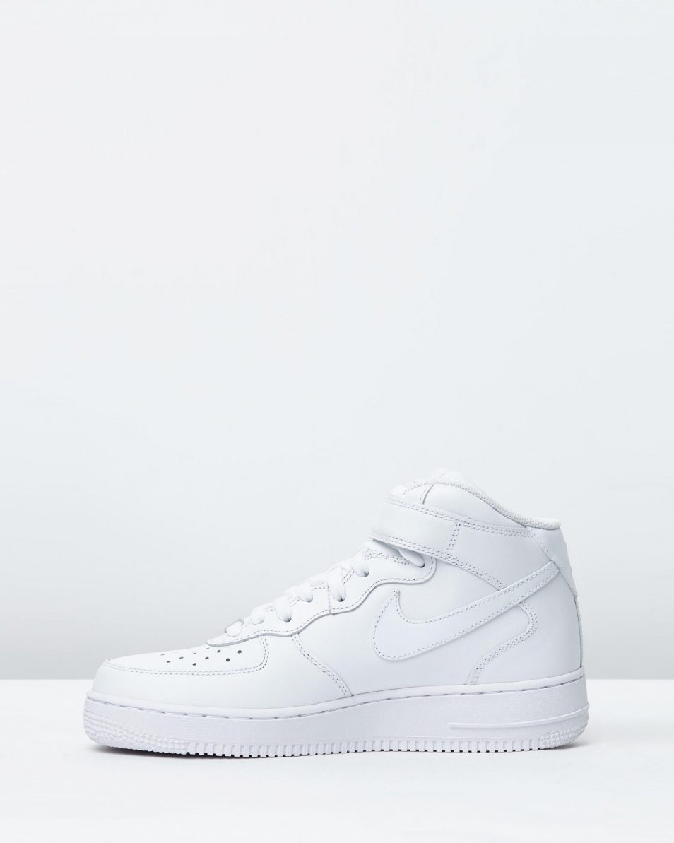 Nike Air Force 1 Mid 07 LE White 3