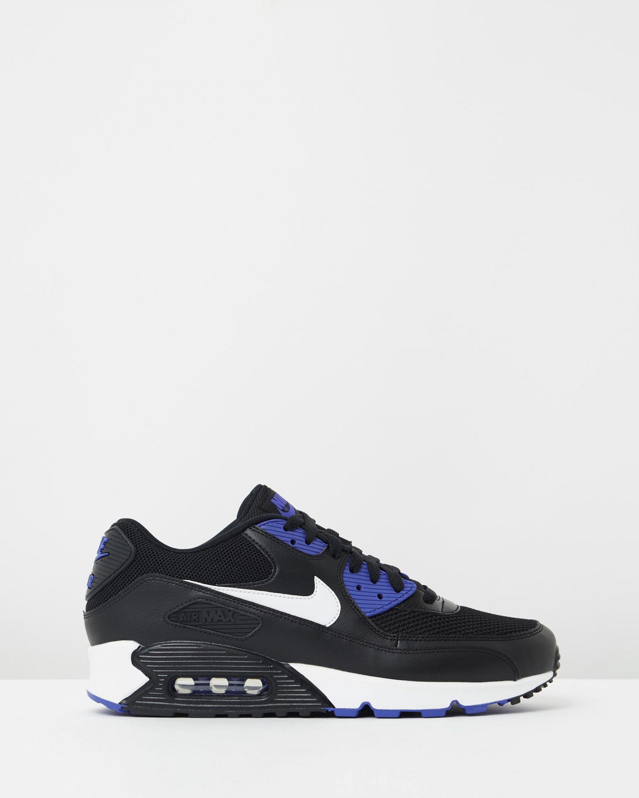 Nike Air Max 90 Essential Black White & Persian Violet