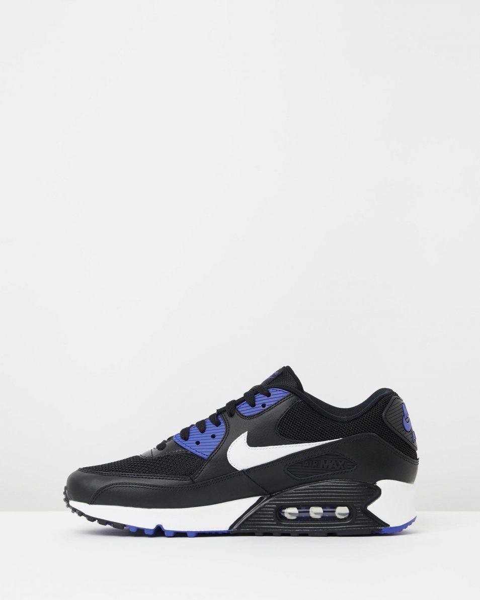 Nike Air Max 90 Essential Black White Persian Violet 3