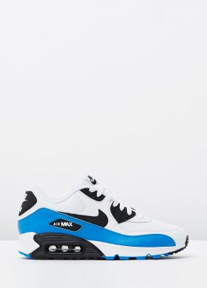 Nike Air Max 90 Essential Black White Photo Blue 1