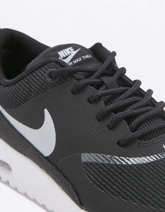 Nike Air Max Thea Black and White Trainers 3
