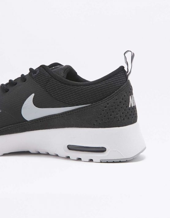 Nike Air Max Thea Black and White Trainers 4