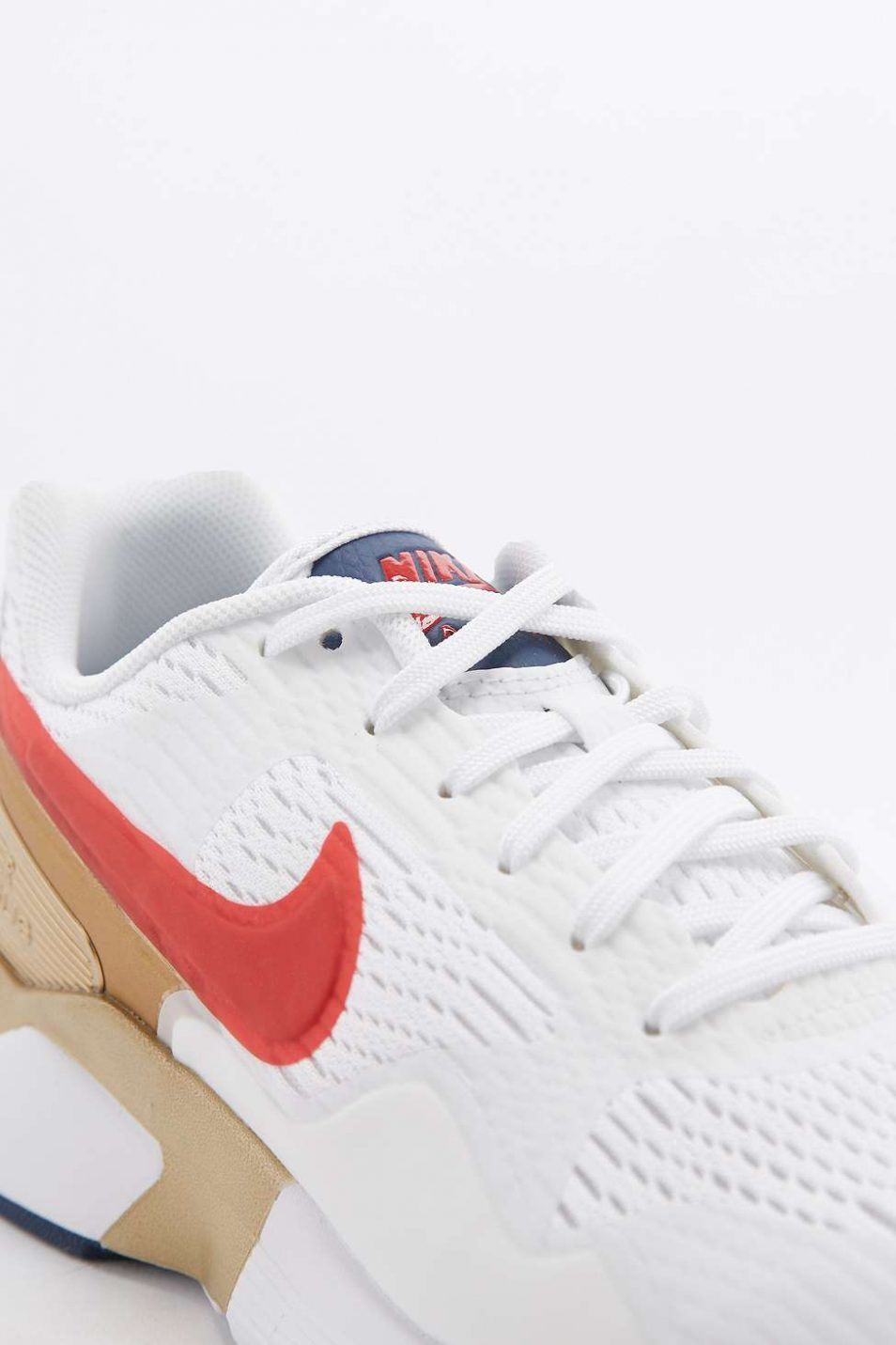 Nike Air Pegasus 92 Red Gold and Blue Trainers 4
