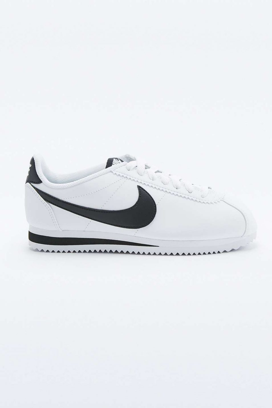 Nike Classic Cortez White Leather Trainers 2