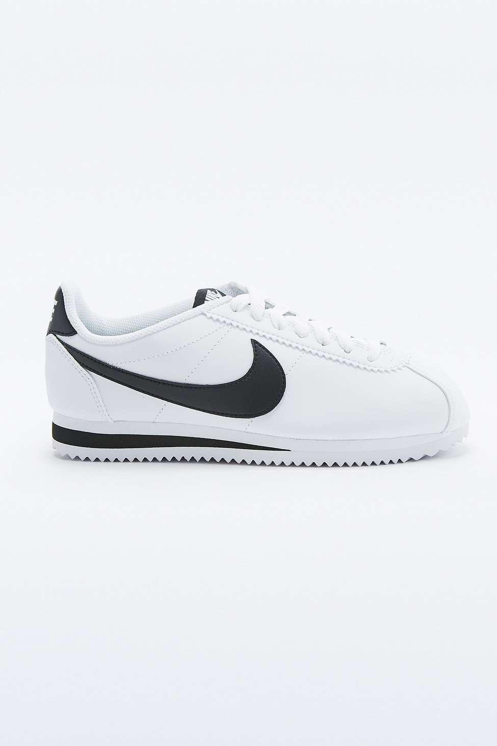 white leather cortez