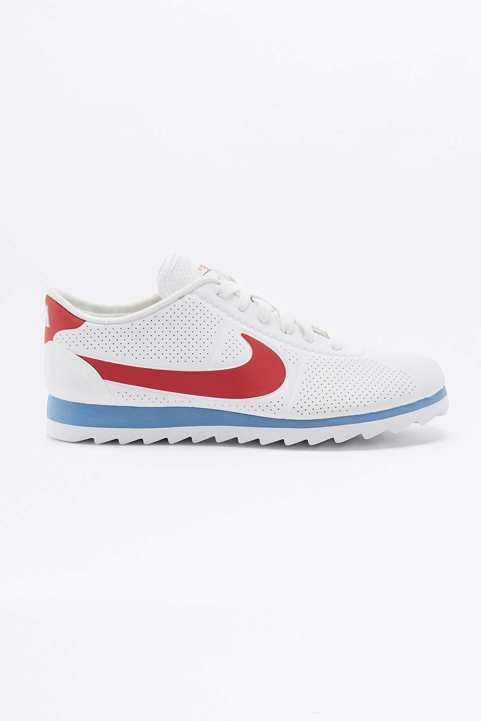 Nike Cortez Ultra Moire Red, White, and