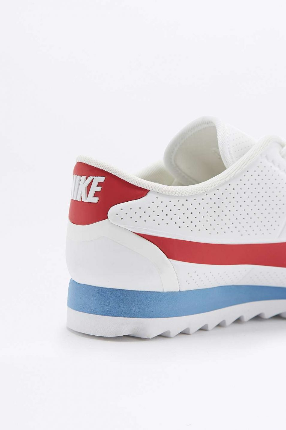 Nike Cortez Ultra Moire Red White and Blue Trainers 3