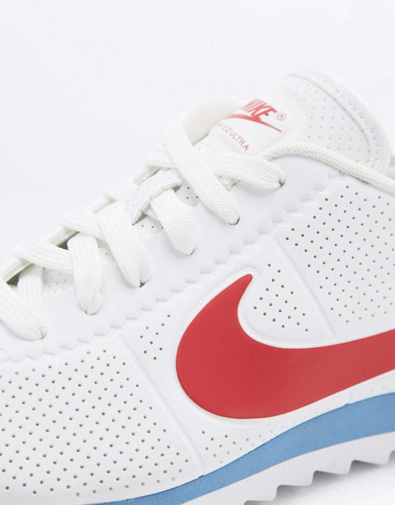 Nike Cortez Ultra Moire Red White and Blue Trainers 4