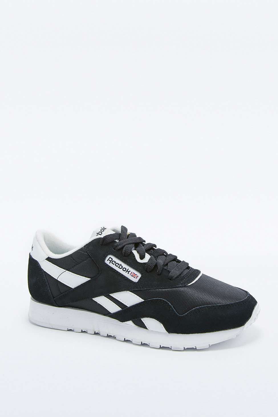 Reebok Men's Classic Black and White Trainers