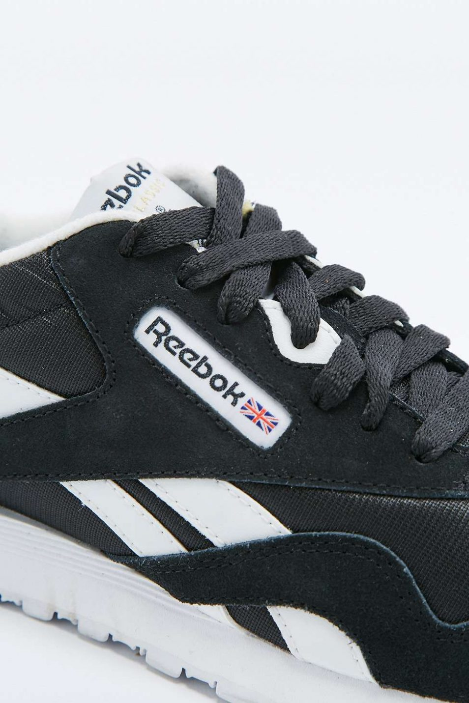 Reebok Classic Black and White Trainers 3 1