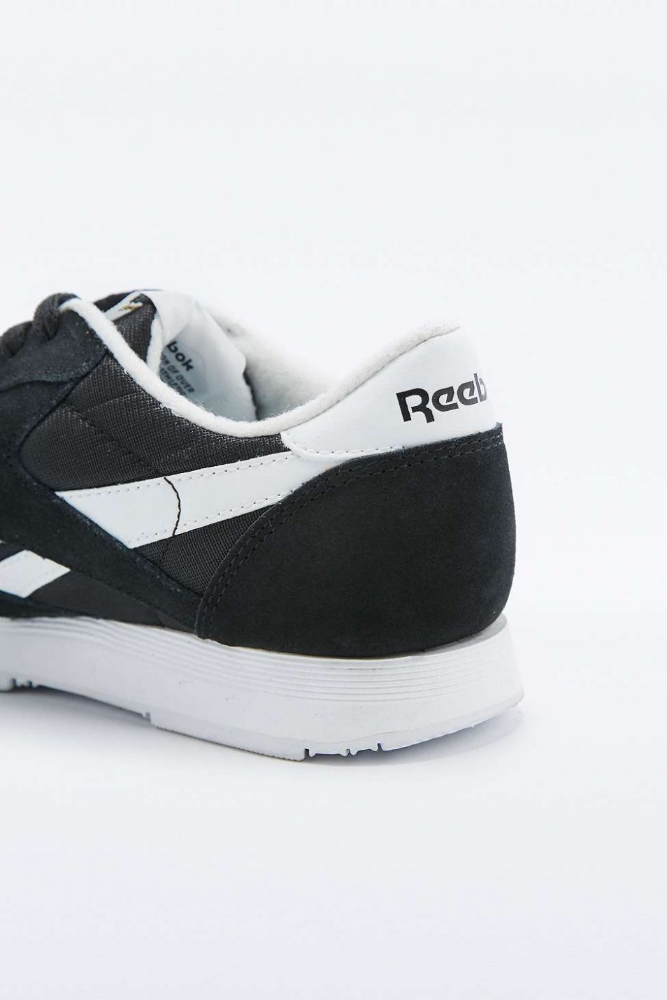 Reebok Classic Black and White Trainers 4 1