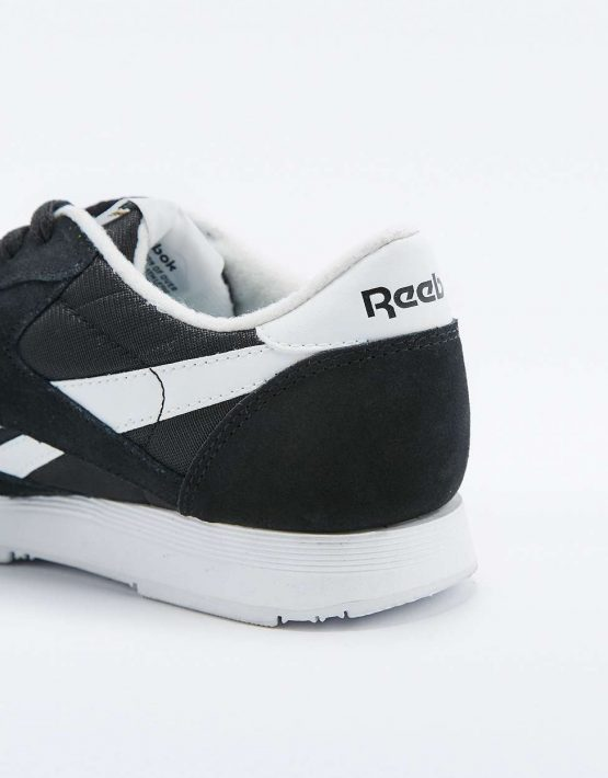 Reebok Classic Black and White Trainers 4