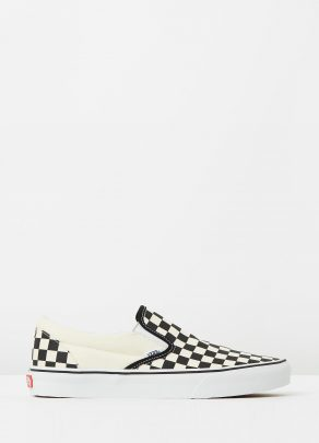 Vans Womens Classic Slip On Checkerboard 1