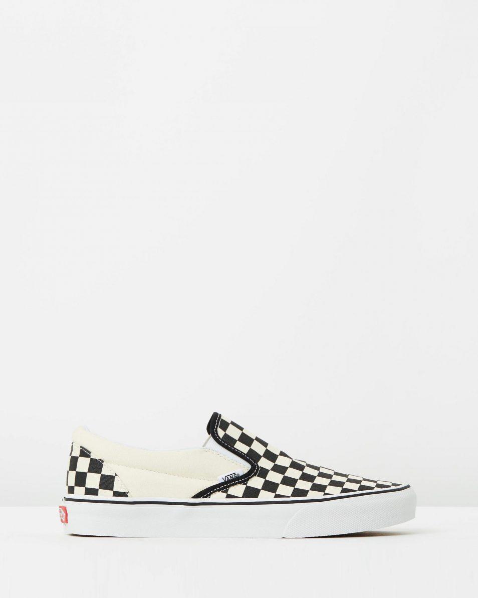 Vans Womens Classic Slip On Checkerboard 1
