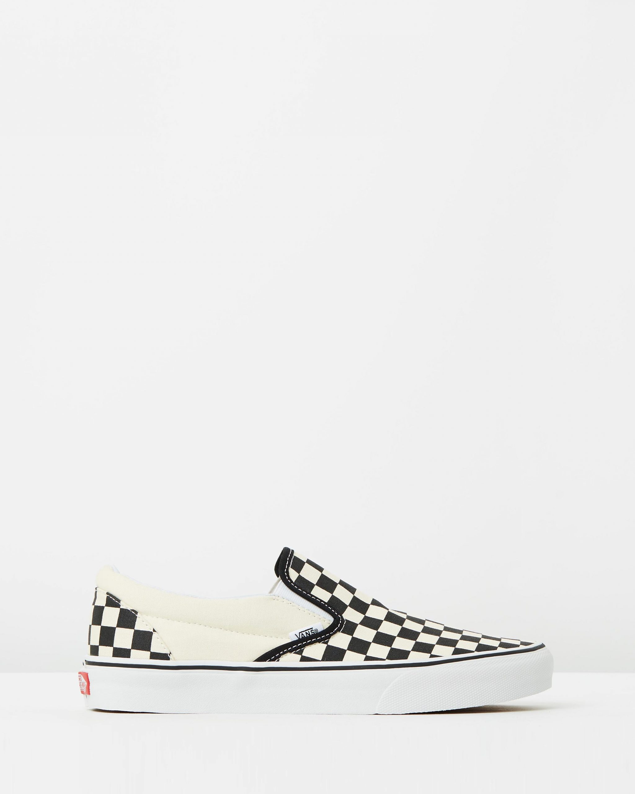 Vans Womens Classic Slip-On (Checkerboard)