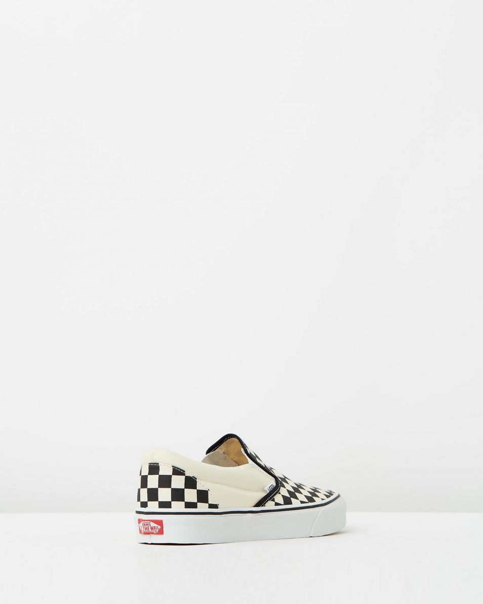 Vans Womens Classic Slip On Checkerboard 2