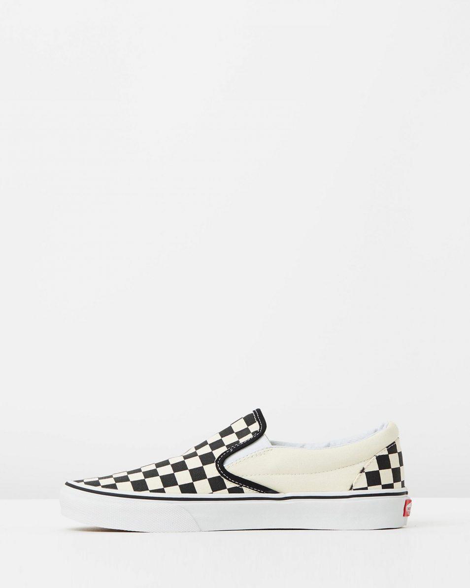 Vans Womens Classic Slip On Checkerboard 3