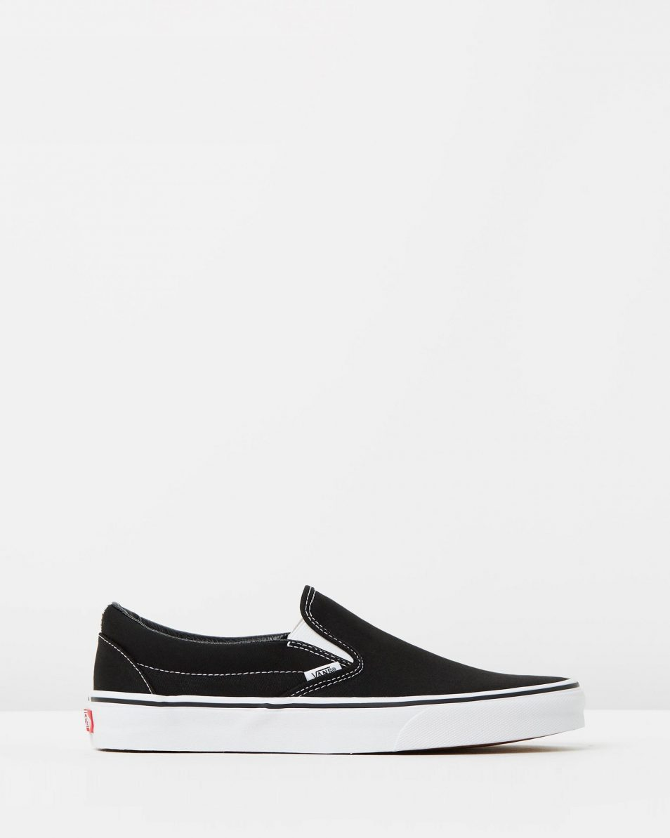 Vans Womens Classic Slip on Skate Shoe Black 1