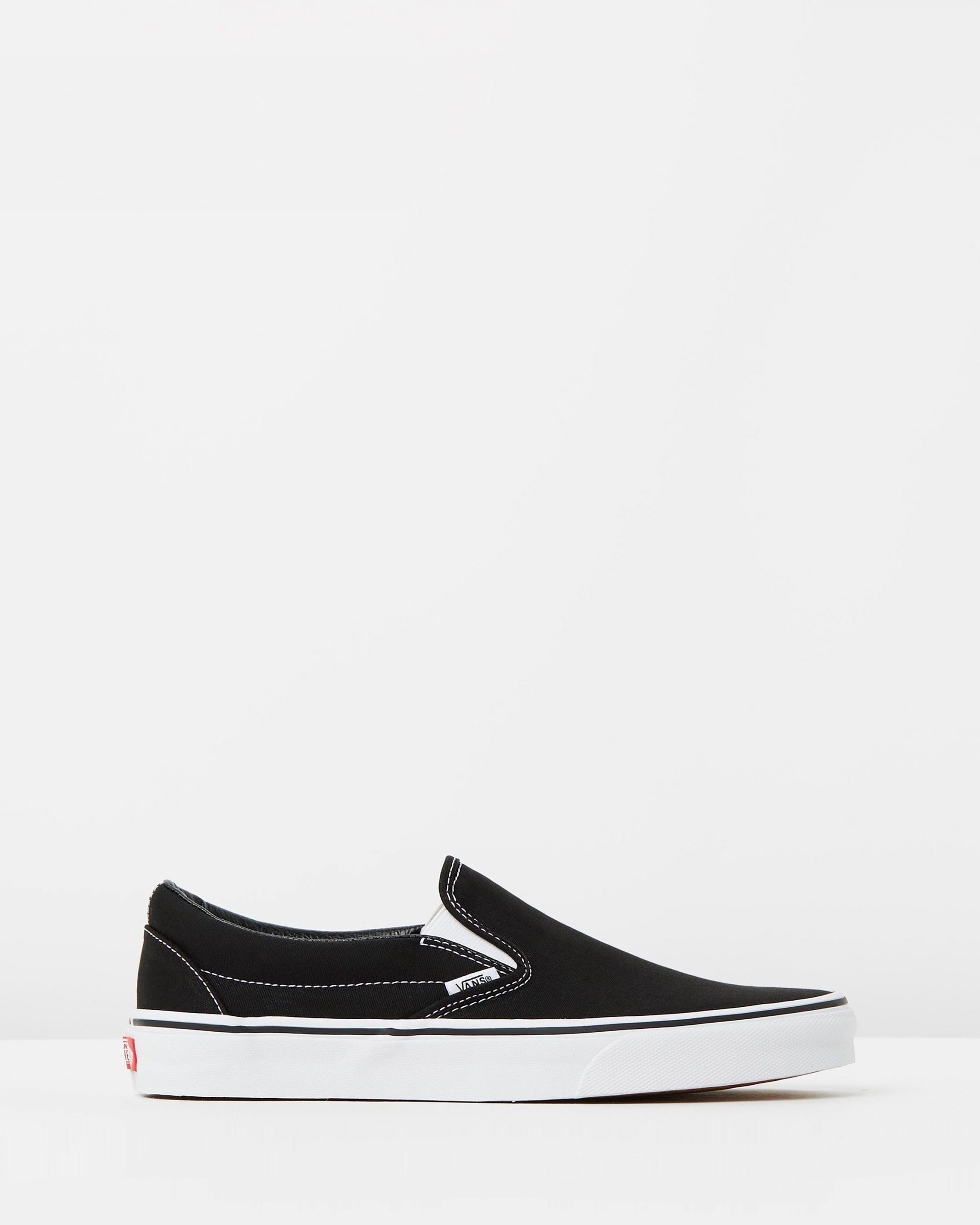 Vans Womens Classic Slip-on Skate Shoe Black