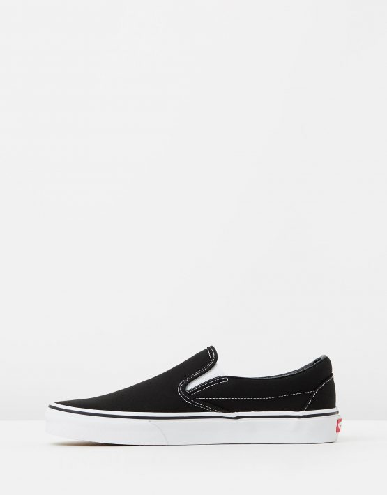 Vans Womens Classic Slip on Skate Shoe Black 3