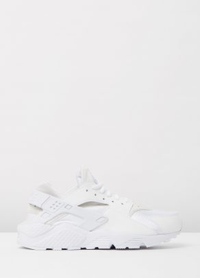 Womens Nike Air Huarache Run White 1